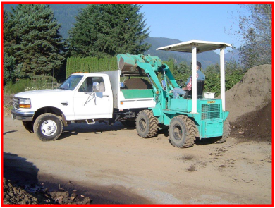 Mission topsoil, landscaping supplies, top soil, sand, gravel